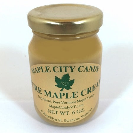 Pure Vermont Maple Cream, 6 oz. jar