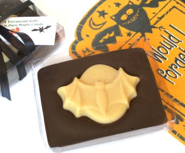 Chocolate-Maple Bat, Halloween Candy Gift