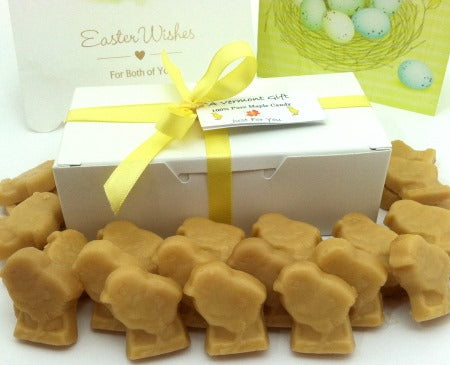 Pure Vermont Maple Candy Easter CHICKS Gift Box
