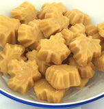 Maple sugar candy leafs