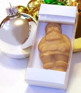 Individually boxed maple candy Santa