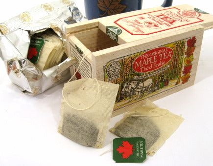 The Original Maple Tea Gift Box, 25 tea bags