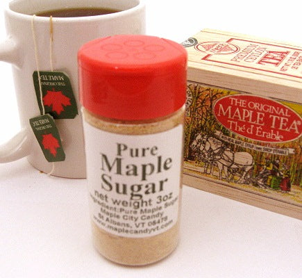 Pure Vermont Maple Sugar, 3 oz. shaker
