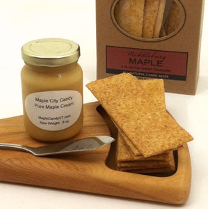 Salted Maple Crackers, 5 oz. box