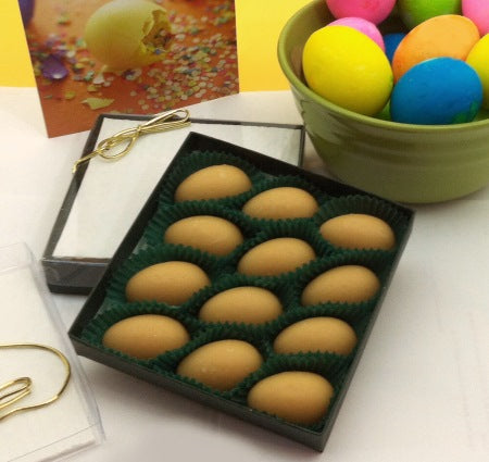 Maple Candy Easter Eggs, 12-piece Gift Box