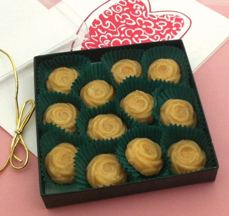 Just for you! Maple Candy ROSES, 12-piece Gift Box