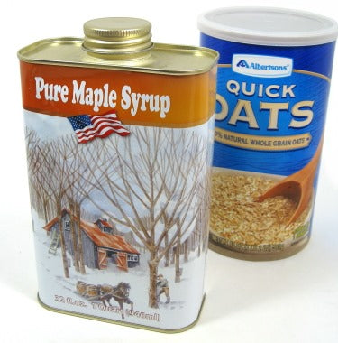 Pure Vermont Maple Syrup Quart Tin, 32 oz.