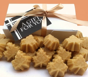 Maple sugar candy gift box