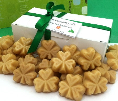 Luck of the Irish! Pure Vermont Maple Candy Gift Box
