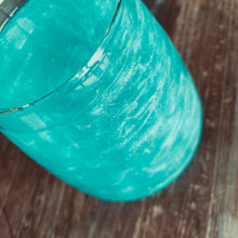 Load image into Gallery viewer, Teal Shimmer Glitter Color Series Drinks for Cocktails Beer Wine Soda & More