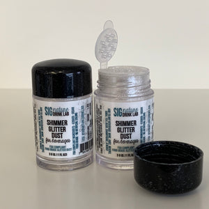 Shimmer Glitter™ Dust for Drinks for Cocktails Beer Wine Soda & More
