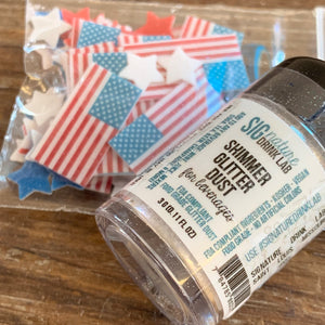 Patriot Shimmer Glitter™ Drink Bundle