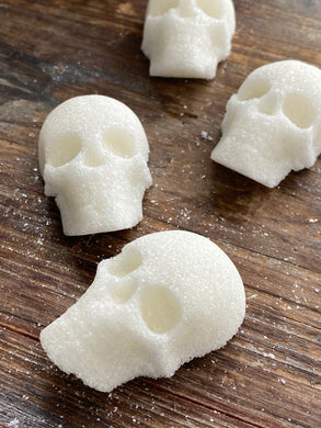 Handcrafted Sugar Skulls for Coffee - Tea - Cocktails & More