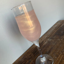 Load image into Gallery viewer, Rose Gold Shimmer Glitter Color Series Drinks for Any Beverage