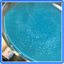 Blue Shimmer Glitter Color Series Drinks for Cocktails Beer Wine Soda & More