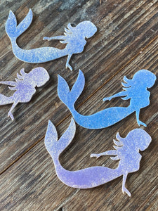 Mermaid Edible Rim Sprinkle Details