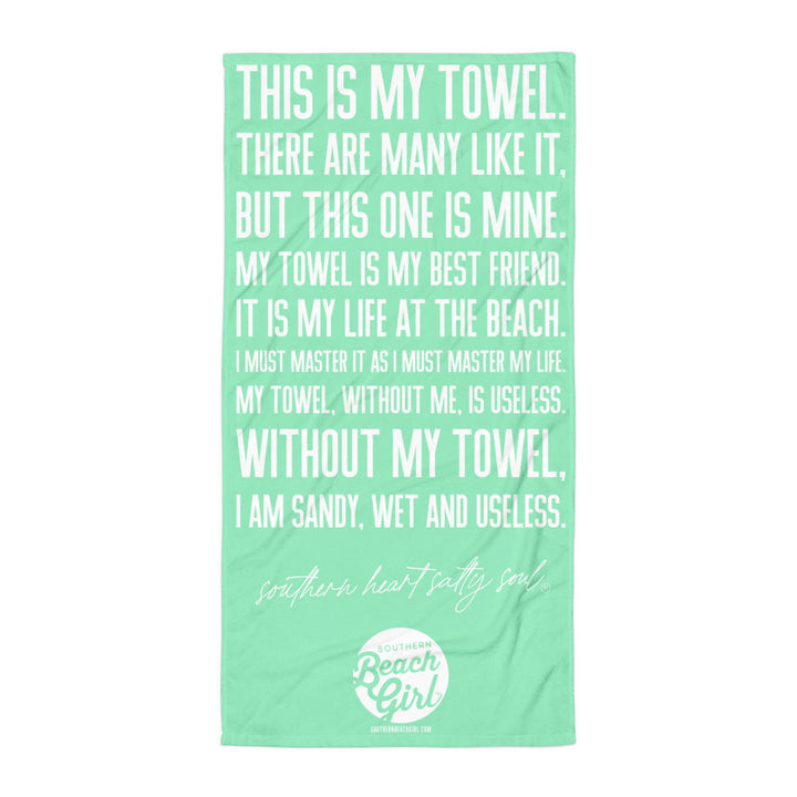 THIS IS MY TOWEL. | Mint