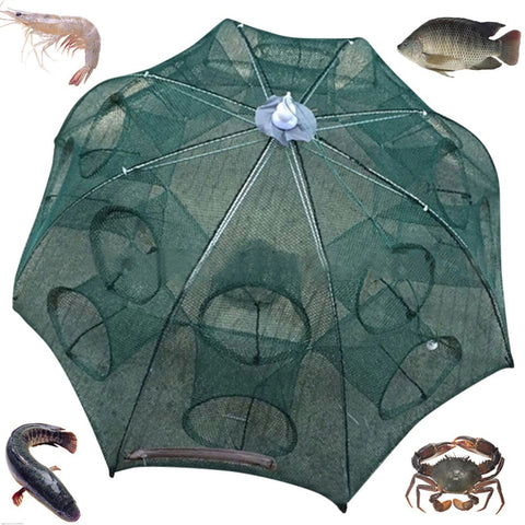 Automatic Folding Fish Trap