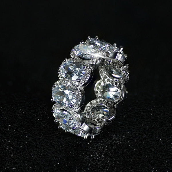 Dazzle Sterling Silver Ring - Elite5999.com