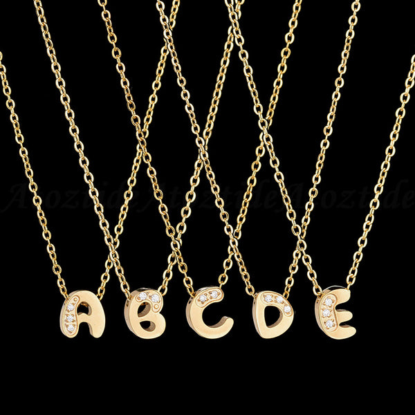 Initial Letter Necklace - Elite5999.com