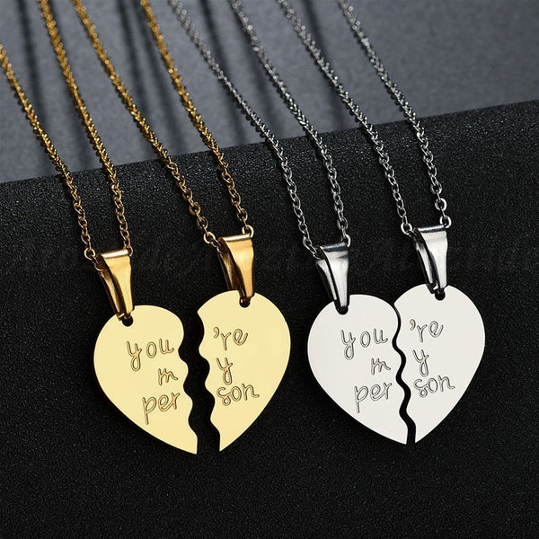Couple Necklace Stainless Steel - Elite5999.com