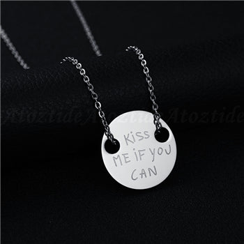 Couple Necklace Stainless Steel