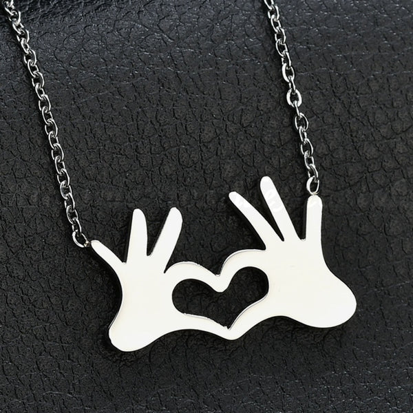 Heart Stainless Steel Necklace Pendant - Elite5999.com