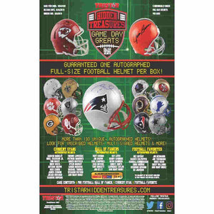 2019 Hidden Treasures Game Day Greats Full-Size Auto Helmet - PYT #1 - Major League Cardz