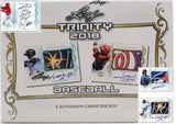 2018 Leaf Trinity Baseball Hobby Box Break - Random Hit Draft #1 - Major League Cardz