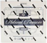 2019 Panini National Treasures Collegiate Football 4 Box Case Break - PYT #2 - Major League Cardz