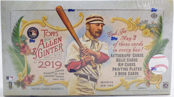 2019 Topps Allen & Ginter Baseball Personal Break - Ripped and Shipped (included) - Major League Cardz
