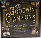 2019 Upper Deck Goodwin Champions 2 Hobby Box Break Random Category #1 - Major League Cardz