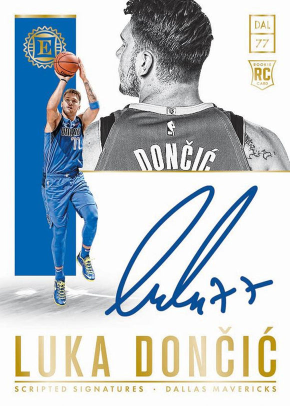 2018-19 Panini Encased Basketball Hobby Box Break - Random Divisions #1 - Major League Cardz