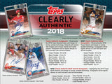 2018 Topps Archives & Clearly Authentic 2-box Mixer Break Double Random Teams #1 - Major League Cardz