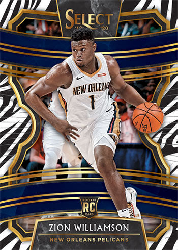 2019-20 SELECT BK HOBBY 2-Box Break - PYT #1 *PELS & GRIZZ RANDOM TO ALL* - Major League Cardz