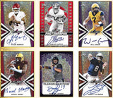 $5 BUCK BREAK - 2019 Leaf Flash Football Hobby Box, 5 hits all auto's! #2 - Major League Cardz