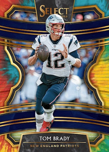 2019 Panini SELECT Football Hobby 12 Box Case Break - PYT #1 - Major League Cardz