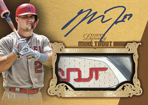 2019 Topps Dynasty Baseball 5 Box Case Random Serial Number #1 (11/6 release) - Major League Cardz