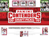 2019 Panini Contenders Draft Picks Football Case Break Double RT #2 - 40 TOTAL AUTO'S! - Major League Cardz