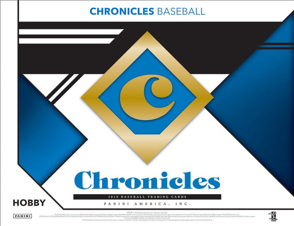 2019 Panini Chronicles Baseball 8 Box Half Case Break - PYT #4 - Major League Cardz