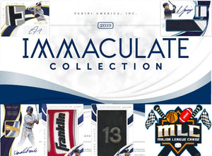 2019 Panini Immaculate Baseball HALF CASE 4 Box Break - PYT #30 - Major League Cardz