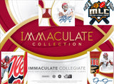 2019 Panini Immaculate Collegiate Football 2 Hobby Box Break PYT #2 - Major League Cardz