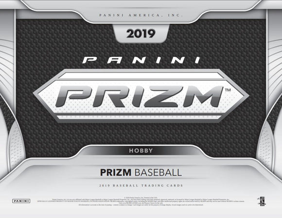 $5.55 BREAK!  2019 Panini Prizm Baseball Hobby Box RT #11 - Major League Cardz