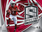2019 Panini Spectra Football 4-Box Half Case Break PYT #1 - Major League Cardz