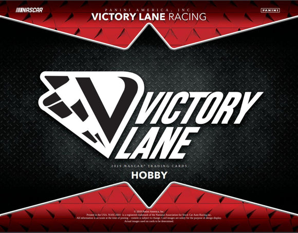 THE BIG ONE #4: 2019 Panini Victory Lane Racing FULL INNER CASE Break, 2 grouped RD's #1 - Major League Cardz