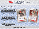 2019 Topps Clearly Authentic Baseball 20 Box Case PYT #2 - Major League Cardz
