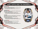 2019 Topps High Tek Baseball 6 Box Half Case Break - PYT #3 - Major League Cardz