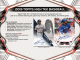 2019 Topps High Tek Baseball 6 Box Half Case Break - PYT #4 - Major League Cardz