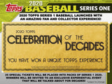 Pre-order at the lowest price! 2020 Topps Series 1 Baseball Jumbo 6 Box Case - Major League Cardz