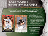 2019 Topps Tribute Baseball Half Case, 3 Hobby Box Break PYT #3 - Major League Cardz